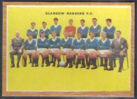 A&BC-FOOTBALL SCOTTISH QUIZ (RARE!!)1964-#07- GLASGOW RANGERS