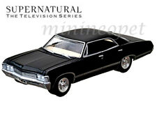 GREENLIGHT 44692 SUPERNATURAL 1967 CHEVROLET IMPALA SPORTS SEDAN 1/64 BLACK