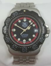 TAG Heuer Formula 1 Professional Black Dial Stainless Steel Men's Watch 374.513