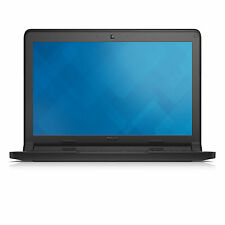 "Dell Chromebook 3120 11.6"" Intel cel N2840 2GB 16GB Black Chrome OS with Adapter"
