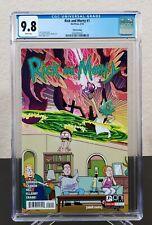 Rick and Morty #1 CGC 9.8 NM+ MT 5th Print Variant Adult Swim