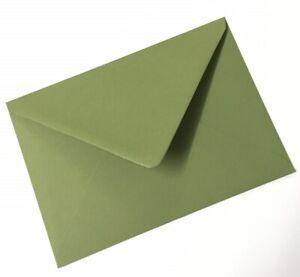 Premium Mid Sage Green A5 C5 (162x229mm) Wedding Invitation Envelopes 135gsm
