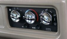3 x Chrome Heater, A/C Knobs to suit Kenworth