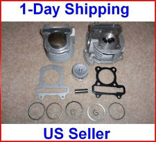 100cc Big Bore Kit Cylinder Head Piston Rings Set Chinese Scooter 50cc 60cc GY6!