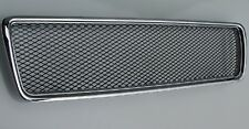Badgeless MESH Sport Grill Grille CHROME NEW for VOLVO S80