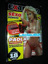 Paola Durante #17 Revista H Extremo Para Hombres Mexican Edition NEW