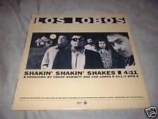 """LOS LOBOS Shakin Shakin Shakes PROMO 12"""" Slash '86"""