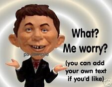 Mad Magazine ALFRED E NEWMAN Magnet * Free Ship on more