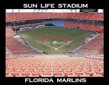 Florida Marlins - SUN LIFE STADIUM - Souvenir Flexible Fridge Magnet