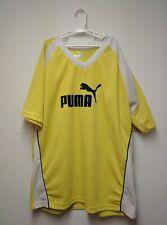 Vintage Yellow Soccer Style Puma Shirt