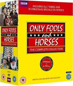 ONLY FOOLS AND HORSES - Complete Series + Christmas Specials DVD Boxset New