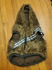 STAR WARS Chewbacca Dog Hoodie, M with reflective chest