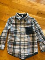 Toddler Boys Oshkosh Long Sleeve Button Down Shirt, Size 2T, VS