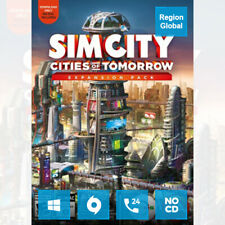 SimCity Cities of Tomorrow Expansion Pack DLC for PC Game Origin Key Region Free