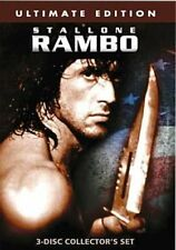 Rambo Ultimate Collection 0012236168980 With Alf Humphreys DVD Region 1