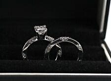PLATINUM MICHAEL B. DIAMOND RING AND BAND 1.66CTW H VS1 GIA