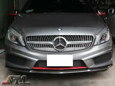 W176 REVO Style Carbon Fiber Front Bumper Cover For 13-14 A180 A250 AMG / A45 CF