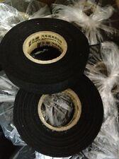 2pcs/lot 25m X 19mm Adhesive Cloth Fabric Wiring Harness Loom Tape Roll Tape