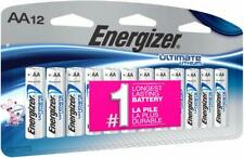 Energizer L91SBP-12 Ultimate Lithium AA Battery, 12 Count