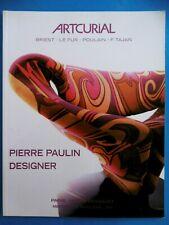 PIERRE PAULIN DESIGNER catalogue 2008 Chaise Fauteuil Table Chauffeuse Bureau