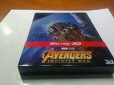 Avengers Infinity War STEELBOOK blu-ray 3D + blu-ray 2D édition Fnac livret