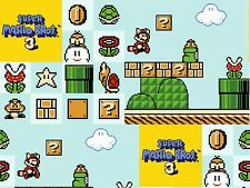 NINTENDO  SUPER MARIO BROTHERS 3  SPRINGS CREATIVE  100% COTTON FABRIC  YARDAGE