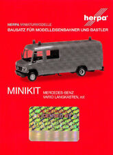 HERPA MiniKit 1:87 Mercedes-Benz Vario Langkasten GW-A/S, rot Bausatz #013260