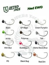 Lifted Jigs Ewg Ned Rig Jigheads - Choose Size and Color
