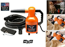Metro Air Force Quick Draw 1.3hp Pet DRYER DOG CAT GROOMING*PORTABLE*POWERFUL