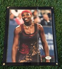 SERENA WILLIAMS SIGNED AUTOGRAPH AUTO PHOTO FRAMED JSA/COA RARE
