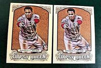 2014 Gypsy Queen #13 Xander Bogaerts RC - Red Sox (2)
