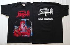 DEATH ,,Scream Bloody Gore,, OFFICIAL ORIGINAL T-SHIRT UNIQUE OBITUARY POSSESSED