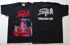 DEATH ,,Scream Bloody Gore,, OFFICIAL ORIGINAL T-SHIRT UNIQUE OBITUARY POSSESSED