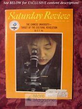 Saturday Review August 19 1967 CHINESE UNIVERSITY C T HU JAMES D. KOERNER