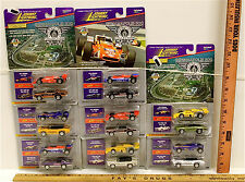 8 Vintage 1996 Johnny Lightning Indianapolis 500 Diecast No Two Cars Alike NOC
