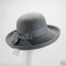 795caf0c0613c Women Men up-brim wool felt hat perfect for winter,casua or any special