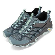 Merrell Moab FST 2 GTX Gore-Tex Blue Smoke Women Outdoors Hiking Shoes J49180