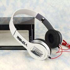 Anime Attack on Titan Stereo Bass Headband Headphone MP3 Phone PC Sport Headset