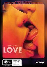 Love  *Directed by Gasper  Noe * DVD, 2015) BRAND NEW!!!