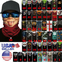 Face Balaclava Bandana Scarf Neck Tube Fishing Shield Sun Gaiter UV Headwear