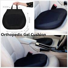Portable Car Drivers Seat Office Chair Stadium w/ Memory Orthopedic Gel Cushion