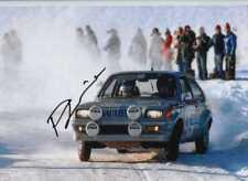 Pentti Airikkala Vauxhall Chevette 2300 Hs Suecia Rally 1978 Firmado fotografía 1