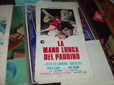 LA MANO LUNGA DEL PADRINO locandina originale 1972 ADOLFO CELI