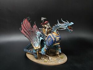 stormcast eternals Lord-Celestant on Stardrake  pro painted made to order