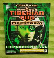 Command & Conquer: Tiberian Sun -- Firestorm Expansion Pack(PC, 2000) - Big Box