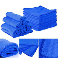 10pcs Microfibre Car Detailing Washing Cleaning Cleaner Soft Towel Accessories