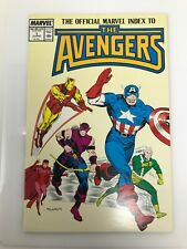 The Official Marvel Index to the Avengers #1 (1987) Comic