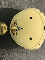 NEW ERA CAP NEW ORLEAN SAINTS  59 FIFTY FITTED HAT