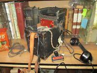 Antique Automatic Electric Telephone Lineman West Test Set VINTAGE