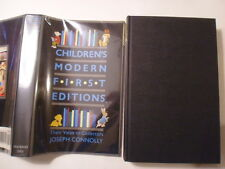 Children's Modern First Editions, Their Value to Collectors, Joseph Connolly, DJ